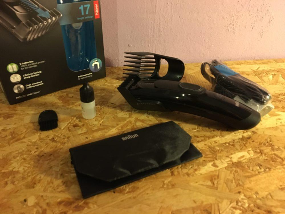 Braun Series 5 Haarschneider Test