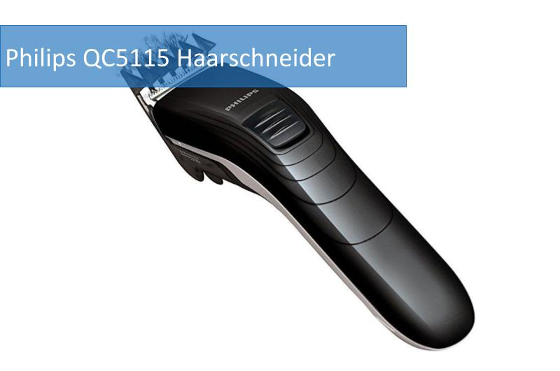 Philips QC5115 Haarschneider